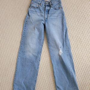 Levi's RIBCAGE Straight Jeans